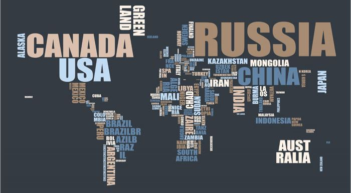 worldmap poster